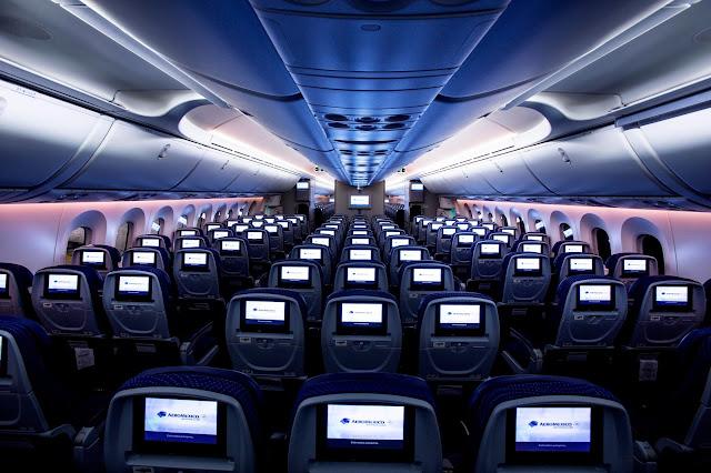Aeroméxico abre las trasmisiones de TV en tiempo real a 35.000 pies de altura