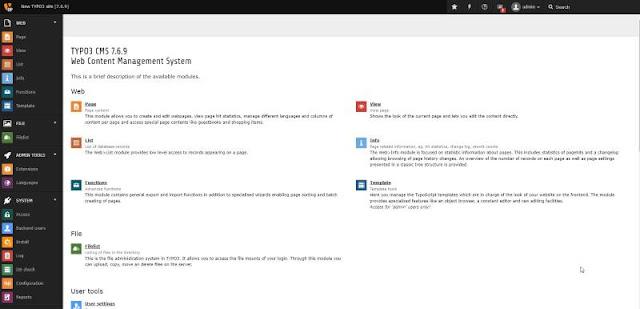 TYPO3 adalah CMS open source yang hebat