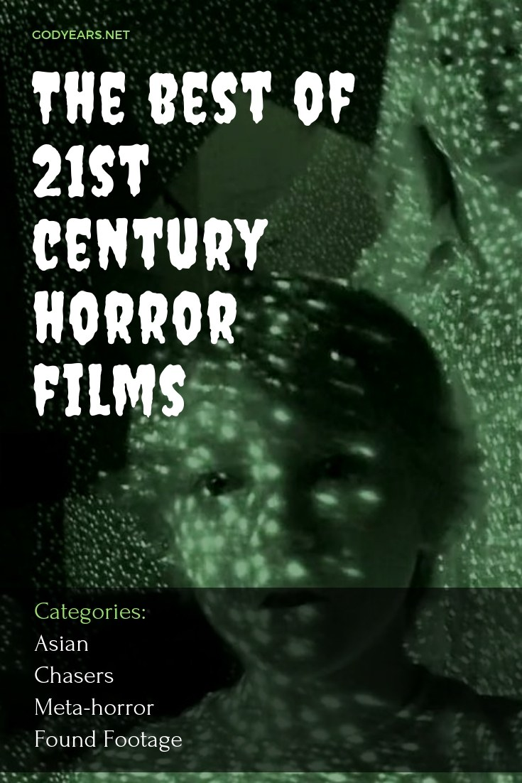 list of the best 21st century horror films focuses on Asian horror, Creatures that chase us, Meta horror and Found Footage.