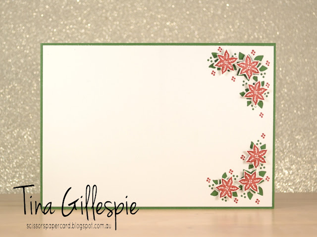 Stampin' Up!, scissorspapercard, Carols Of Christmas, Card Front Builder Thinlits, Be Merry DSP