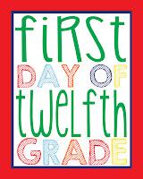 Twelfth Grade Printable