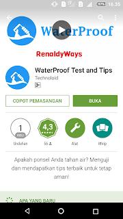Cara Cek Waterproof Pada Smartphone