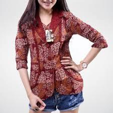 grosir baju batik modern