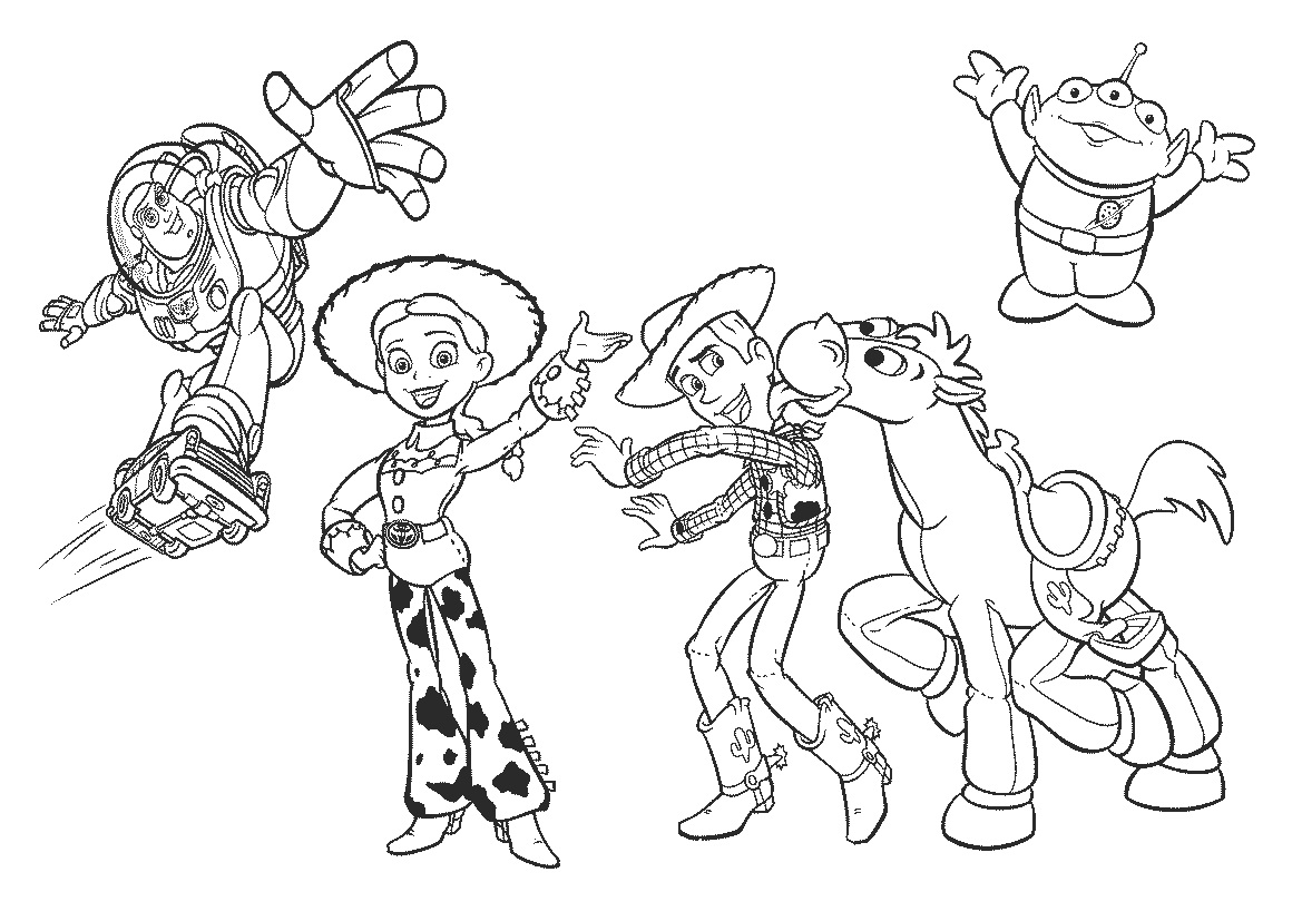 Desenhos Para Colorir E Imprimir Desenhos Para Colorir Do Toy