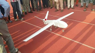 ABU Student Constructs a Drone, names it 'Hope for Chibok Girls', as his Final Year Project