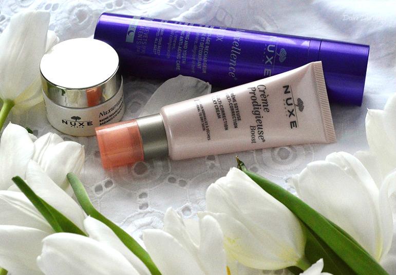 Kosmetyki Nuxe pielęgnacja recenzja