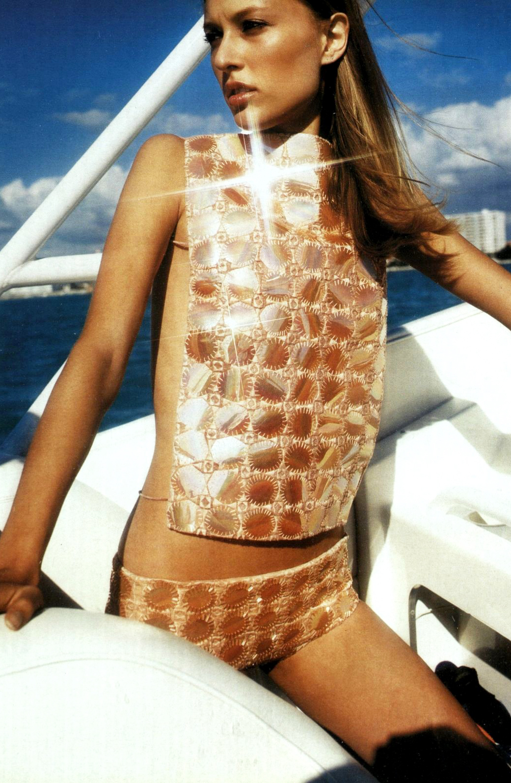 Mila Schon in Vogue Russia May 2000