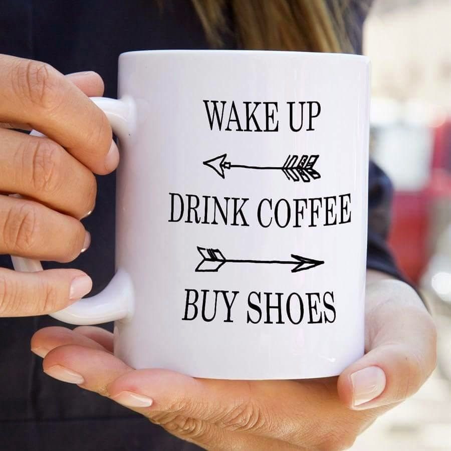 Drink Coffee, Buy Shoes [I Don't Want to be an Adult Today at High-Heeled Love]