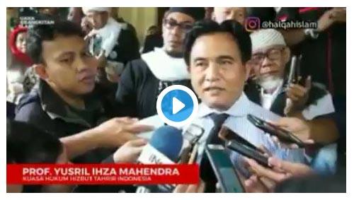 Kasus Pembubaran HTI, Akhirnya Pemerintah Bingung Sendiri