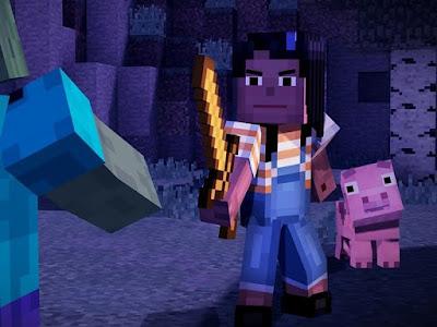 لعبة Minecraft story mode قريبا لكل من IOs و الماك