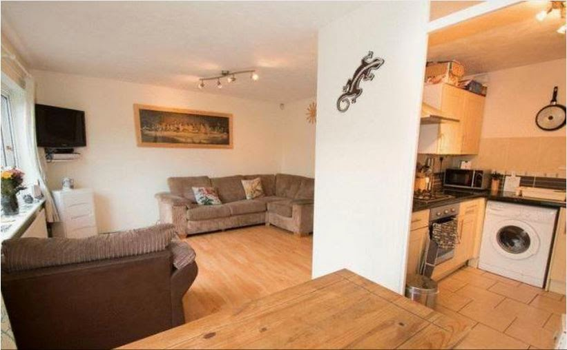 chichester buy-to-let lounge kitchen