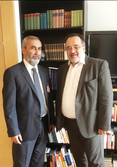 Συναντήσεις και επαφές του Προέδρου της ΟΣΕΠΕ στο Βερολίνο για τη Διεθνοποίηση της Γενοκτονίας