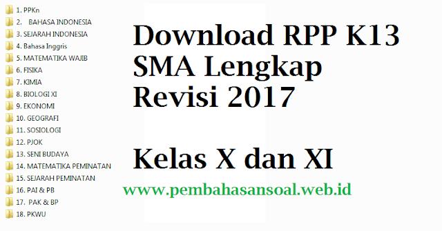 Permalink ke RPP Fisika K13 SMA Revisi 2017 Kelas X dan XI