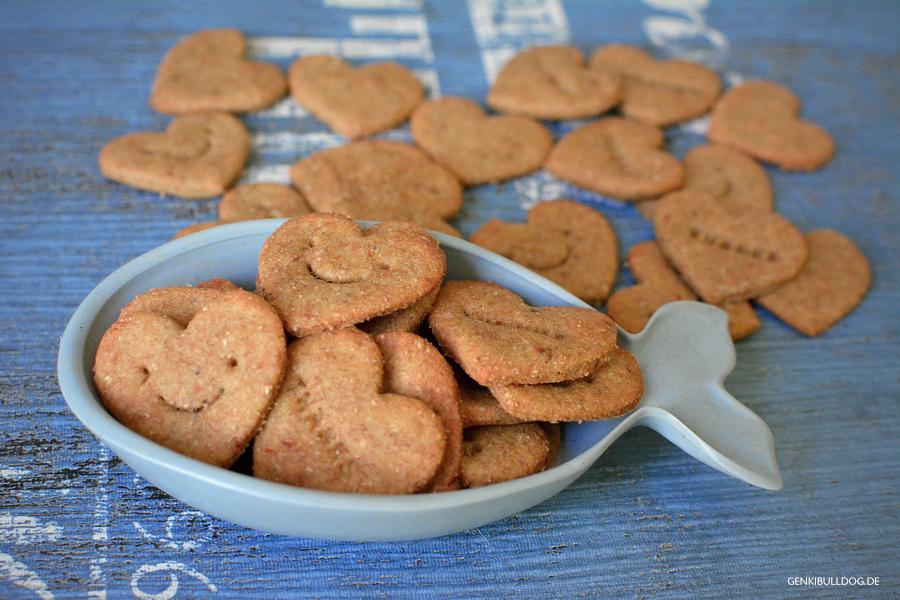 Rezept: Thunfisch-Bananen Kekse für Hunde