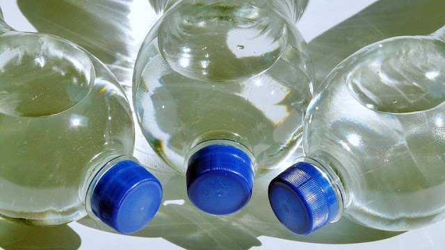 botol plastik air mineral