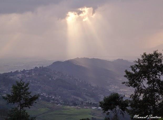 Nagarkot, tramonto