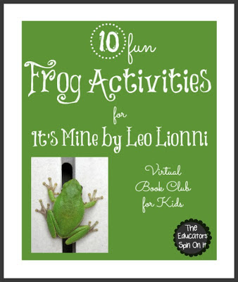 10 Frog Activities inspired by author Leo Lionni