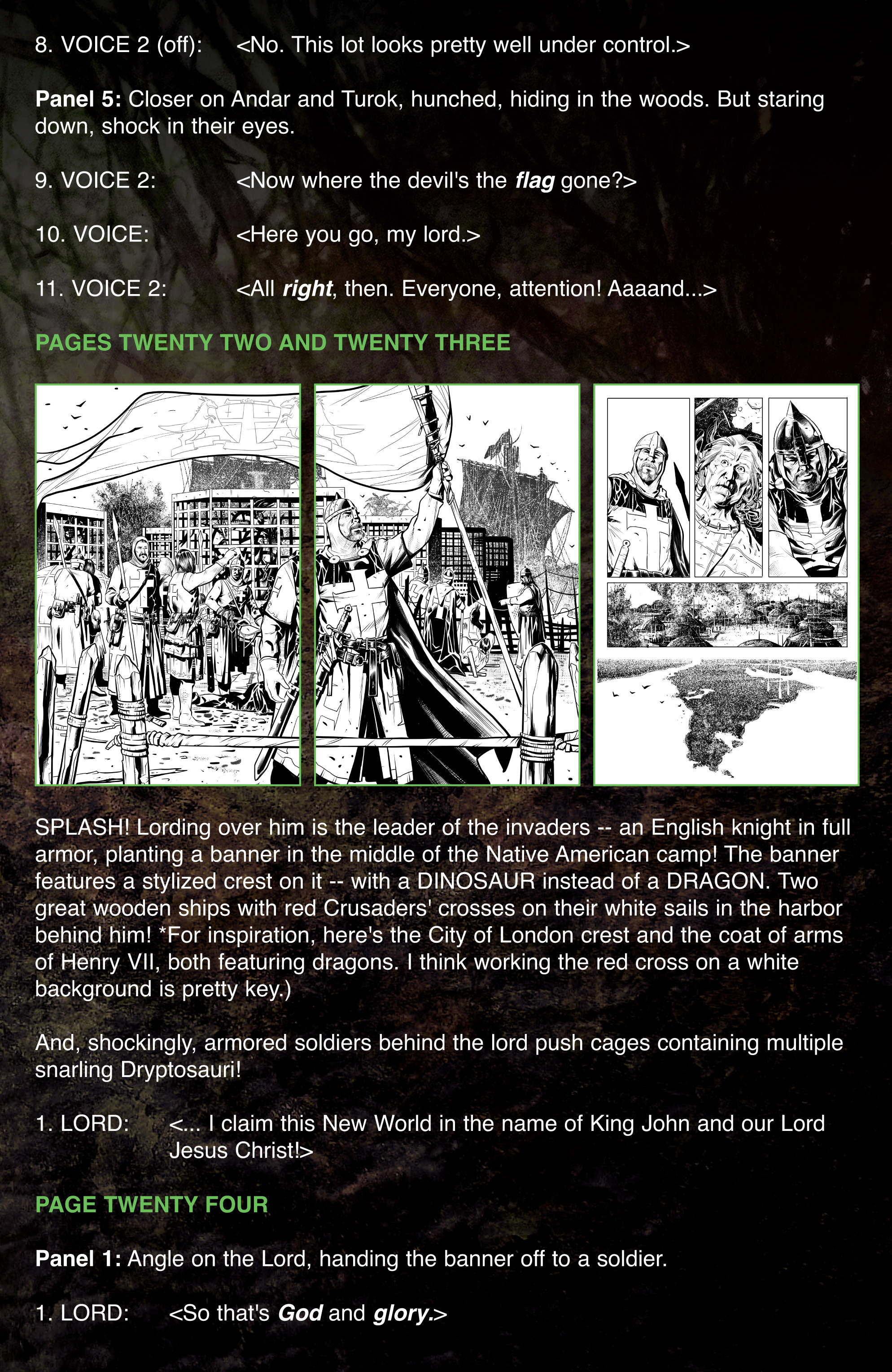 Read online Turok: Dinosaur Hunter (2014) comic -  Issue # _TPB 1 - 114
