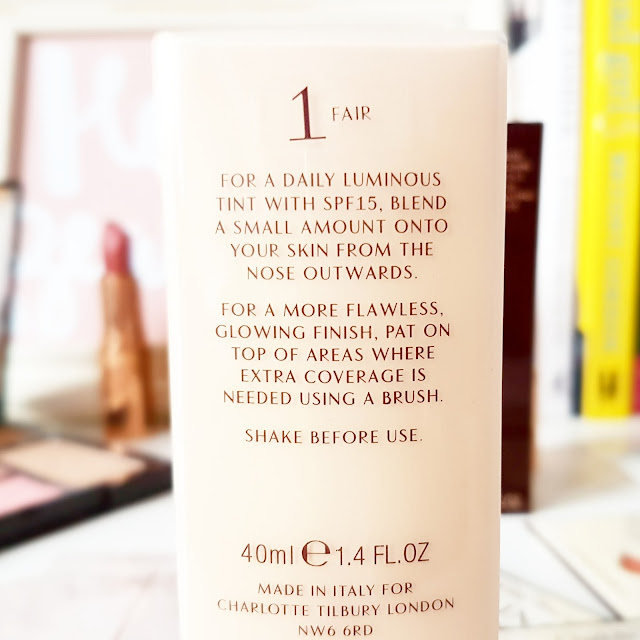 Charlotte Tilbury Light Wonder Youth-Boosting Perfect Skin Foundation