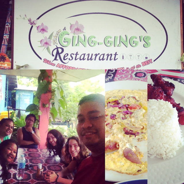 Gingging's Restaurant in Malapascua Island Daanbantayan Cebu Philippines
