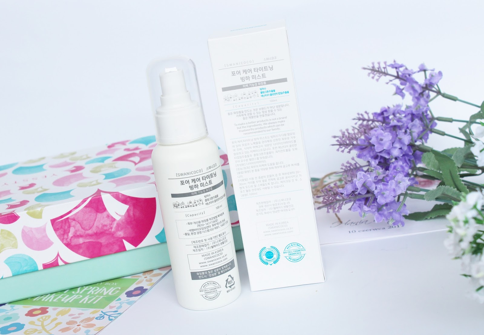 Swanicoco, Pore Care Tightening Glacier Mist