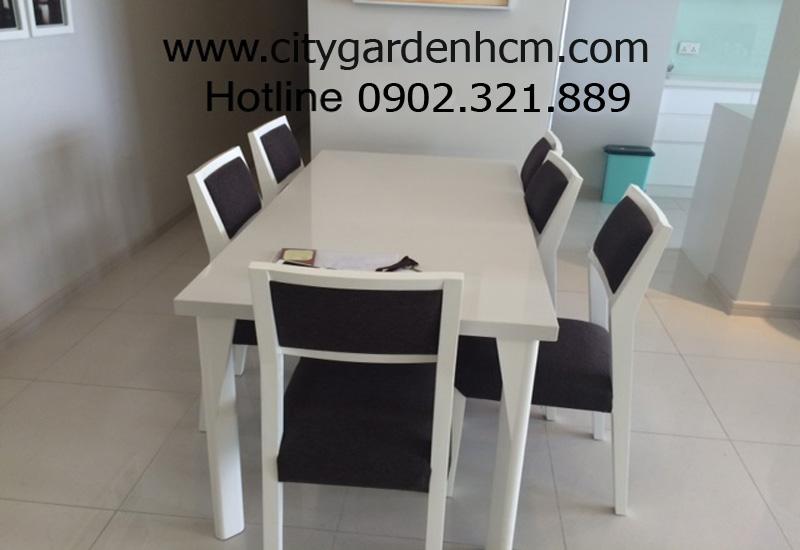 Căn hộ cho thuê 3 phòng ngủ | bàn ăn
