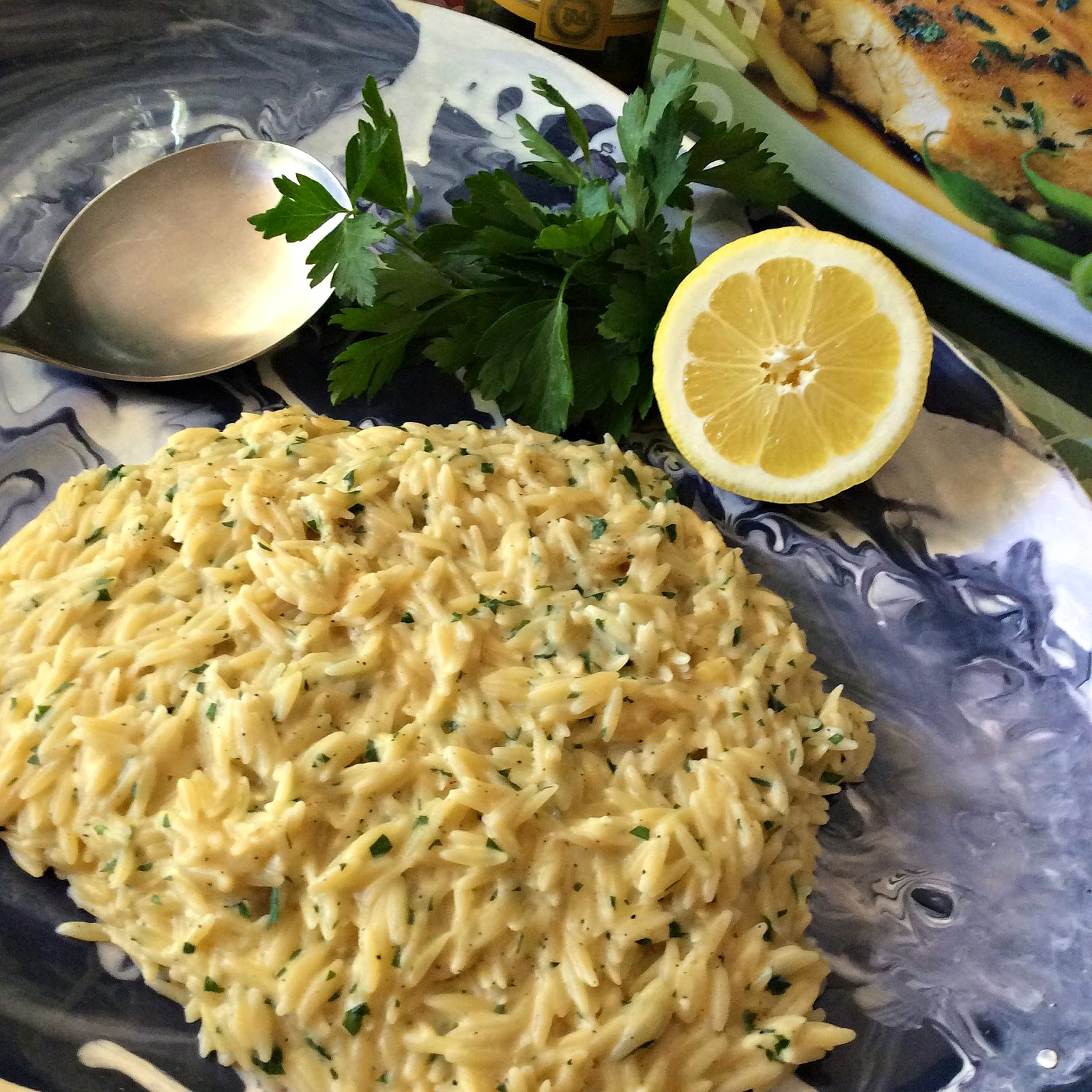 Cooking On A Budget: Lemon and Parsley Orzo Risotto