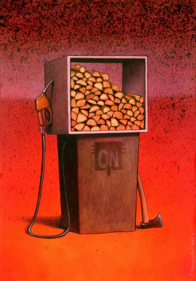 Unique Satirical Art By Paul Kuczynski Graphic Art News