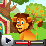 G4K Cute Lion Rescue Game…