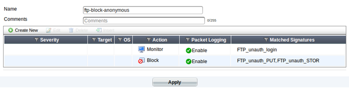 Al's Tech Corner: How-to: Block anonymous FTP uploads on a FortiGate