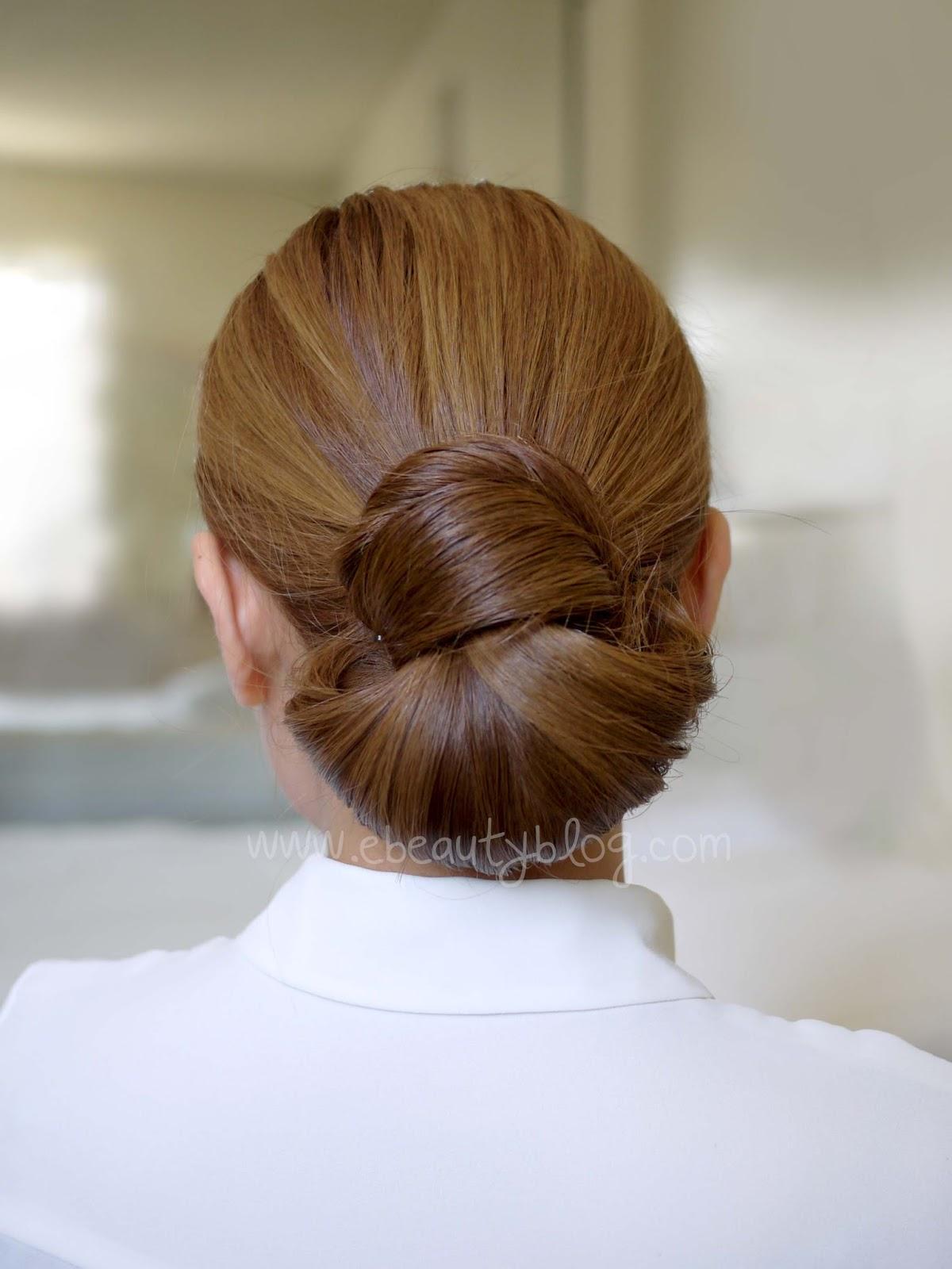 Tremendous Ebeautyblog Com Hair Tutorial Easy Elegance Hair Bun Hairstyle Inspiration Daily Dogsangcom