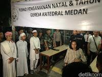 Diberitakan Amankan Gereja, Ini Klarifikasi Jamaah Tabligh Medan !!!