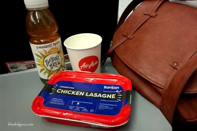 AirAsia Inflight Meal