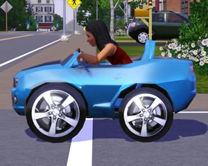 If You Like Cars For The Little Sims Make Sure Check Out Chevy Camaro Pedal Car Seen Here