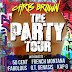 "Chris Brown Announces ""The Party Tour"" w French Montana, 50 cent & Fabolous"