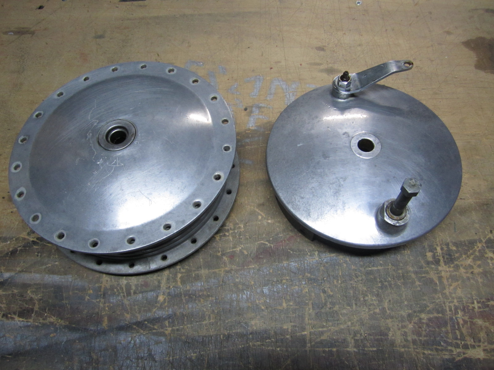 FRONT ST CYCLE: SOLD! Ironhead Sportster Front Drum Brake 64-72