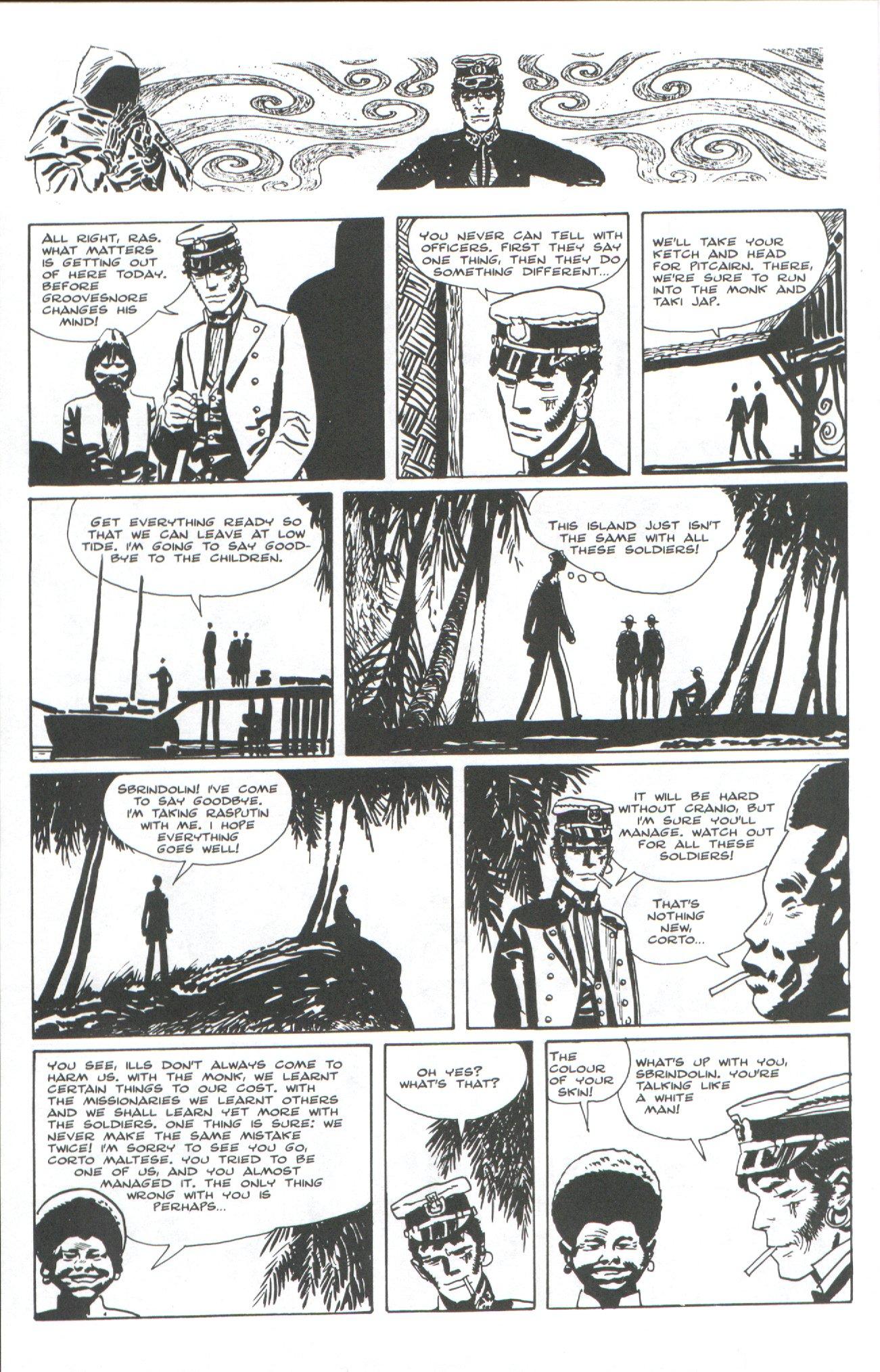 Read online Corto Maltese: Ballad of the Salt Sea comic -  Issue #7 - 18