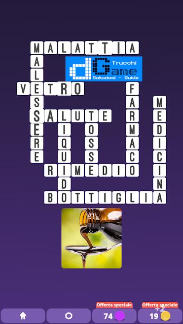 Soluzioni One Clue Crossword livello 20 schemi 1 (Cruciverba illustrato)  | Parole e foto