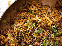 Quick Asian Beef and Noodles