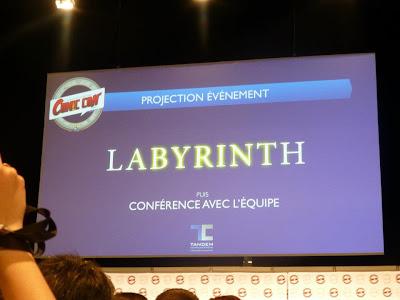 conférence mini série Labyrinth Comic Con Paris 2012