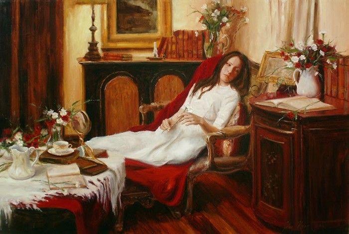 Слияние импрессионизма и реализма. John Haag
