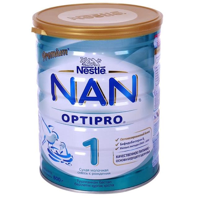 Sữa Nan Nga số 1 có tốt không, có MÁT và TĂNG CÂN cho bé