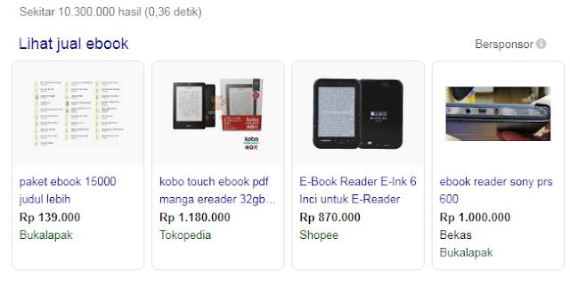 5 Cara Menghasilkan Uang Di Internet Dengan Menjual E-book
