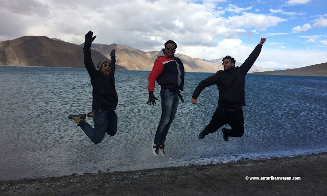 Budget Road Trip to Ladakh, Pangong Lake