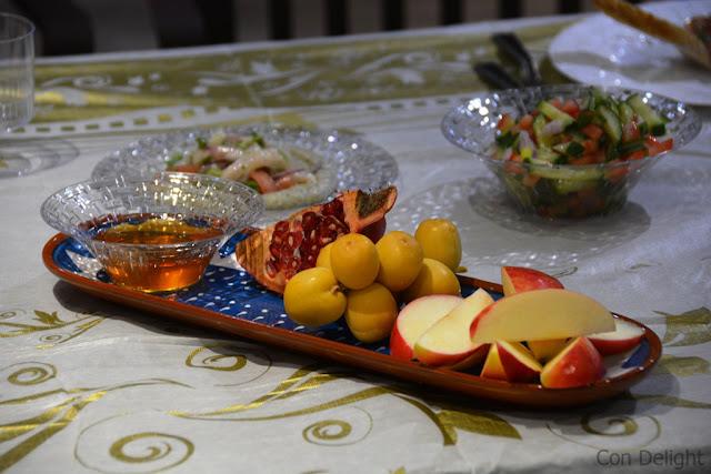 שולחן ראש השנה rosh hashanah table