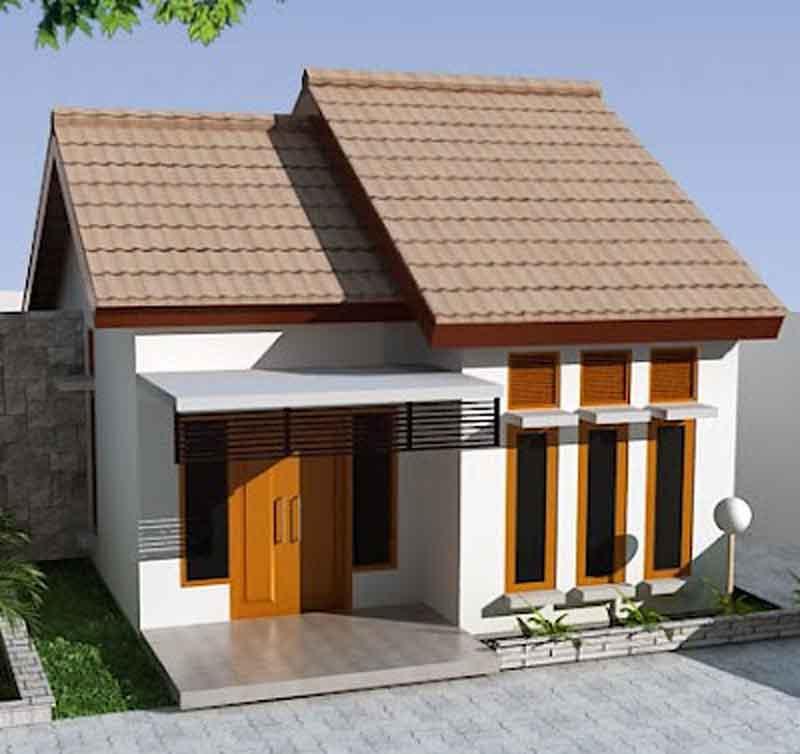 60 gambar rumah minimalis 1 lantai tampak depan dan warna cat pilihan desainrumahnya com