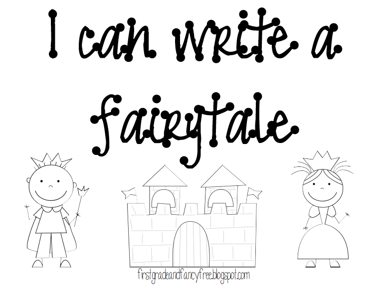 First Grade and Fancy Free: Once Upon a Time