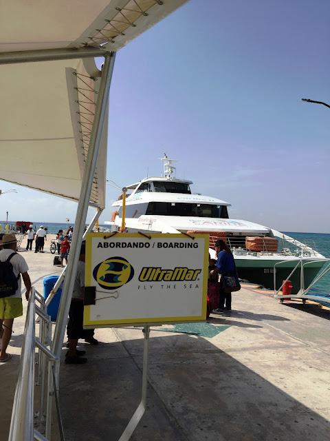 Porto de embarque para Cozumel
