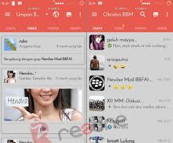 BBM Mod Tema RedGrey 2.12.0.11 apk