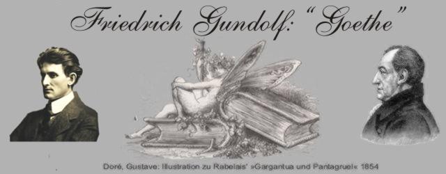Gedichte Und Zitate Fur Alle F Gundolf Goethe Biographie